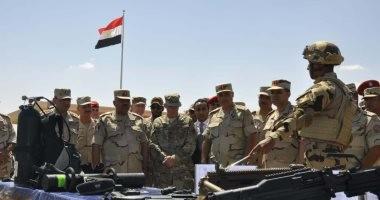 قاعدة محمد نجيب تستضيف أكبر مناورات عسكرية بالمنطقة بمشاركة 25 دولة