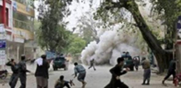 قتيلان في هجوم انتحاري لطالبان استهدف القنصلية الألمانية في مزار الشريف