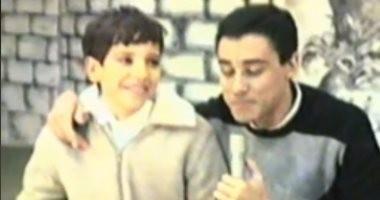 فيديو.. أحمد أمين فى لقاء تليفزيونى نادر قبل 25 عاما يتحدث عن التمثيل