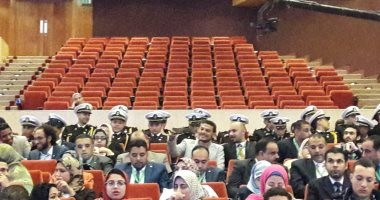 """إقبال كبير على منتدى الإسكندرية """"شارك ابدع انطلق"""" بحضور وزير الشباب (صور)"""