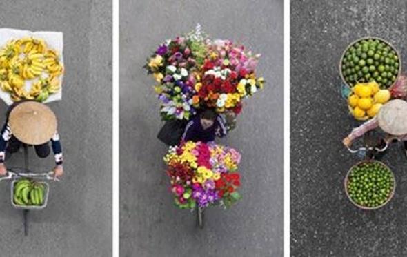 شاهد.. مصورة تلتقط أجمل الصور لبائعي الزهور بنيويورك