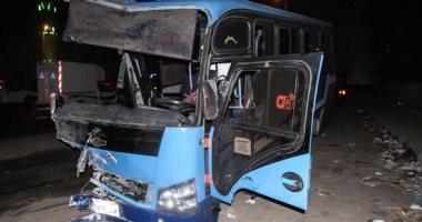 مصرع شخصين وإصابة 9 آخرين فى حادث انقلاب سيارة بالبحيرة