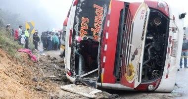 مصرع شخصين وإصابة 42 آخرين إثر سقوط حافلة فى ممر ضيق شمال الهند
