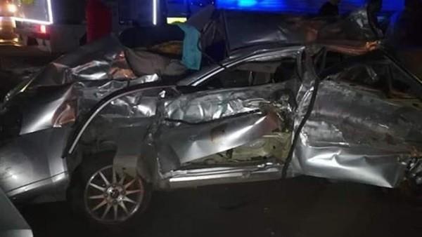 تعرض ثلاثي الجونة لحادث سيارة دون إصابات