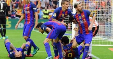 برشلونة فى نزهة أمام غرناطة قبل مواجهة السيتى بدورى الأبطال