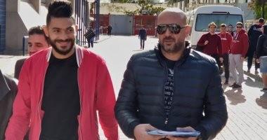 صور.. ياسر إبراهيم يصل الأهلي بعد توقيعه رسميا قادما من سموحة