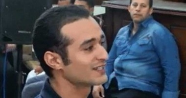 """اليوم.. استكمال فض الأحراز فى إعادة محاكمة أحمد دومة بـ""""أحداث مجلس الوزراء"""""""