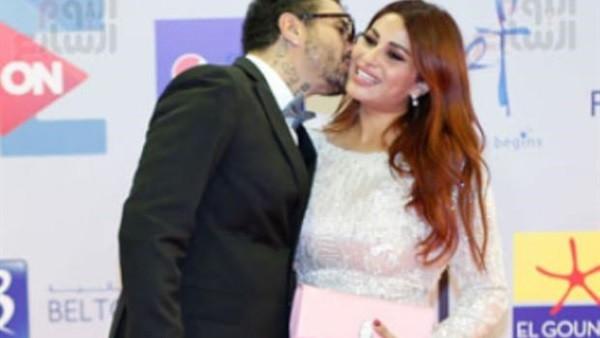 احمد الفيشاوى يغادر الجونة السينمائي بعد مشاجرة مع زوجته