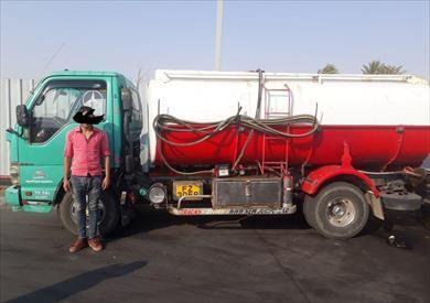 ضبط سيارة نقل محملة بـ3500 لتر سولار مهرب بالسويس