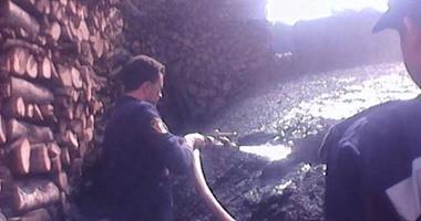 البيئة تنفذ حملة مكبرة على المنشآت الصناعية وتزيل 6 مكامير فحم نباتى بالجيزة
