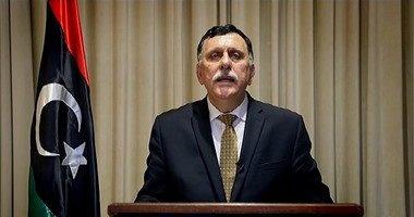 السراج: اجتماع لندن يهدف لبحث الأزمة الاقتصادية فى ليبيا