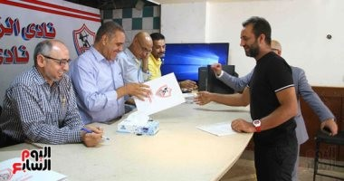 فيديو..أحمد مرتضى يقدم أوراق ترشحه فى انتخابات الزمالك على مقعد العضوية