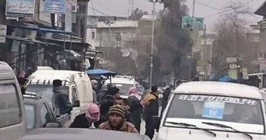 أول فيديو للحظة التفجير الانتحارى أمام مطعم فى مدينة منبج السورية