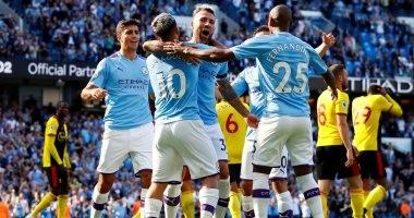 مانشستر سيتي يسجل أسرع خماسية فى تاريخ الدوري الانجليزي.. فيديو