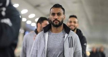 """الاهلي يطمئن على """"ضامة"""" حسام عاشور و""""ركبة"""" سعد سمير"""