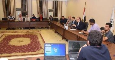 """محافظ بني سويف: قافلة """"حياة"""" الطبية مثال للشباب المصري المتفانى من أجل وطنه"""