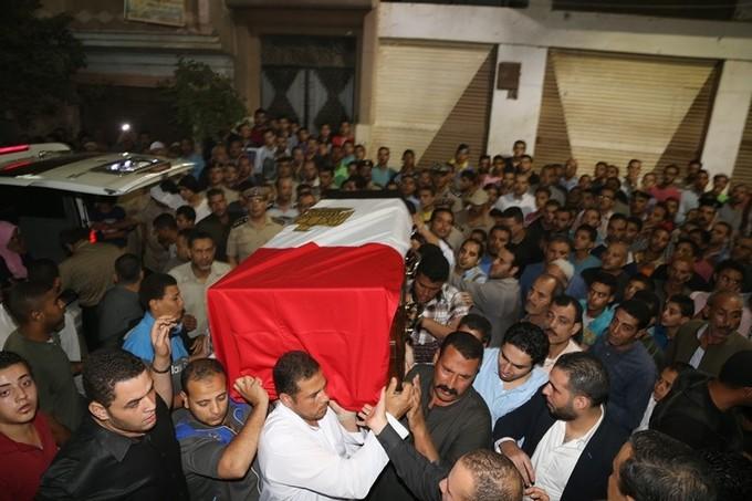 تشييع جثامين شهداء حادث الواحات بالغربية وسوهاج والسويس والمنوفية