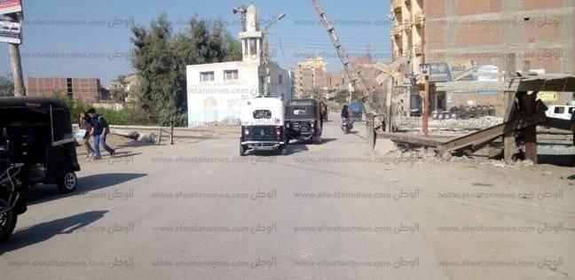 """مواطن يعتدي على خفير بالسكة الحديد في كفر صقر: """"قفل المزلقان"""""""