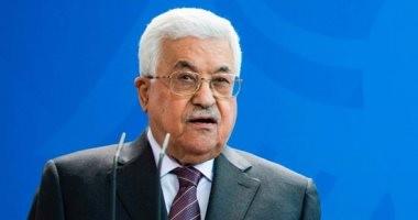"""""""أبو مازن"""" يعزى الرئيس السيسى فى ضحايا حادث تصادم القطارين"""