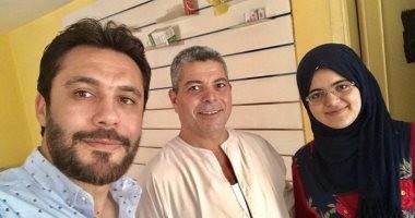 """أحمد حسن يزور """"مريم"""".. ويعلق: يوم مع الدكتورة"""