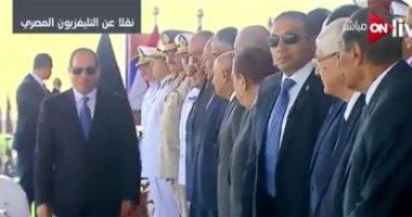 الرئيس السيسي يصل أكاديمية الشرطة لحضور حفل تخرج دفعة جديدة من الطلاب
