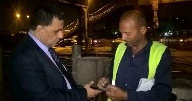 رئيس السكة الحديد الجديد يقود أول جولة تفتيش مفاجئ ويحول مشرفين للتحقيق