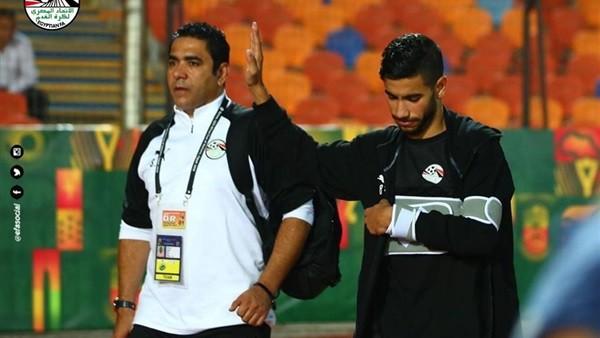 مدرب المنتخب الأولمبي يوضح حجم إصابة ناصر ماهر