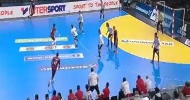 خسارة قطر أمام أنجولا 24 / 23 فى ثان أيام مونديال كرة اليد