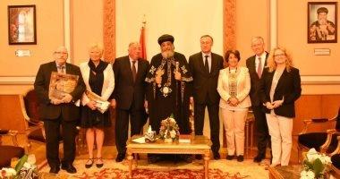 """رئيس """"الشيوخ"""" الفرنسى للبابا: قلت للسيسى قلِق على الأقليات فرد: كلنا مصريون"""