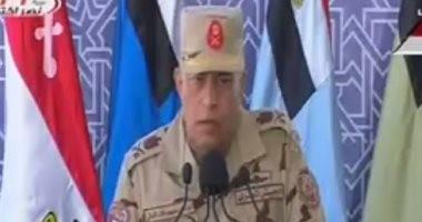 قائد الجيش الثالث: نشارك فى التنمية دعما للأمن القومى ودون إخلال بواجبنا