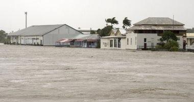 مياه فيضانات تغمر آلاف المنازل فى ولاية إيلينوى الأمريكية
