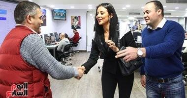 """رضوى الشربينى فى ندوة """"اليوم السابع"""": بطالب الستات انتظار أزواجها بجردل مية وملح"""