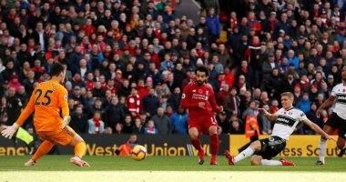 فولهام ضد ليفربول.. شاهد كيف سجل محمد صلاح هدفاً فى 13 ثانية