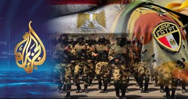 شاب مصرى يفضح كذب قناة الجزيرة وشبكة رصد فى فبركة حكايات فيلم العساكر
