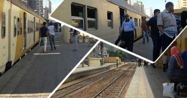 توقف حركة قطارات القاهرة - الإسكندرية بسبب تعطل سيارة نقل أثناء عبورها مزلقان
