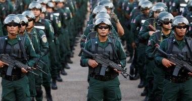 صور.. كمبوديا تنشر قوات مسلحة فى استعراض للقوة قبل الانتخابات