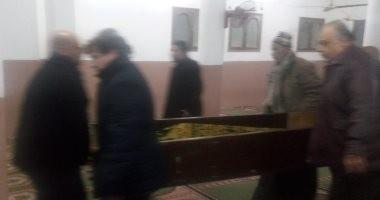 يسرى نصر الله وسلوى محمد على يشيعان جنازة أسامة فوزى